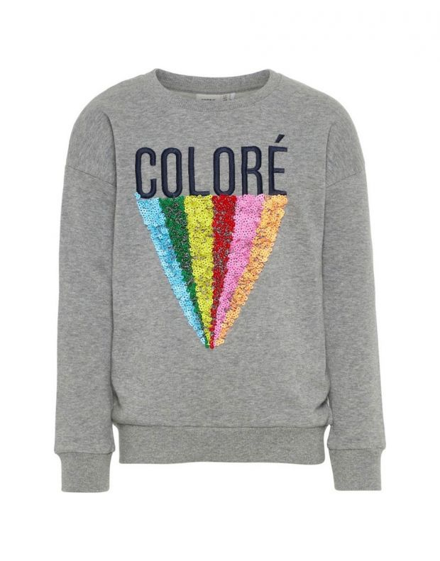 NAME IT Sequid Sweatshirt Grey - 1