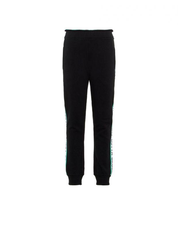 NAME IT Side Stripe Sweat Pants Black - 1