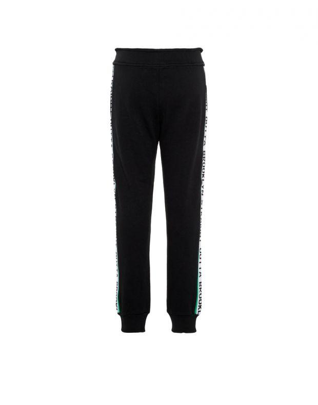 NAME IT Side Stripe Sweat Pants Black - 2