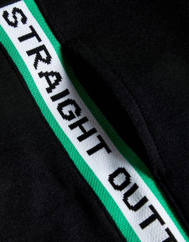 NAME IT Side Stripe Sweat Pants Black - 4
