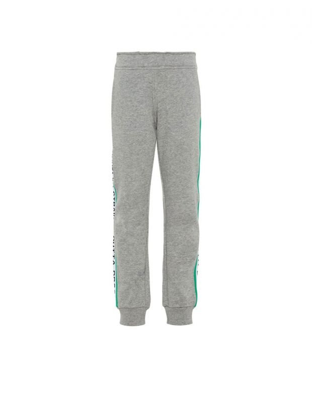 NAME IT Side Stripe Sweat Pants Grey - 1
