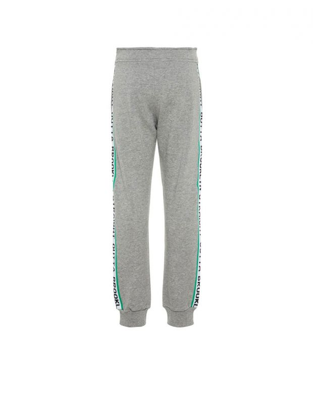 NAME IT Side Stripe Sweat Pants Grey - 2