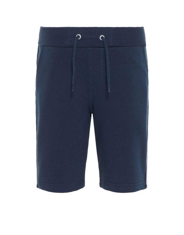 NAME IT Side Stripe Sweat Shorts Navy - 13167848/sapphire - 1