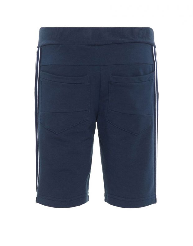 NAME IT Side Stripe Sweat Shorts Navy - 13167848/sapphire - 2