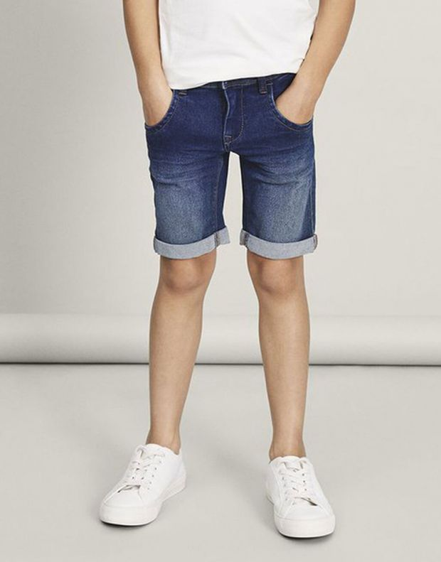 NAME IT Sofus Slim Fit Long Denim Shorts - 13150022/denim - 5
