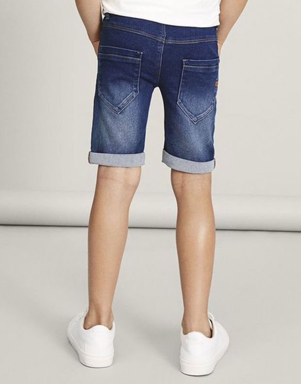 NAME IT Sofus Slim Fit Long Denim Shorts - 13150022/denim - 6