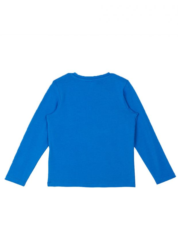 NAME IT Taken Long Sleeved Blouse Blue - 13161428 - 2