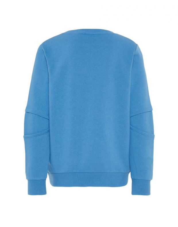NAME IT UK Flip Sequin Sweatshirt Blue - 13164656/blue - 2