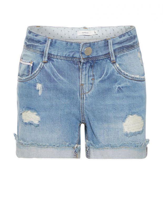 NAME IT Rose Regular Fit Denim Shorts - 1