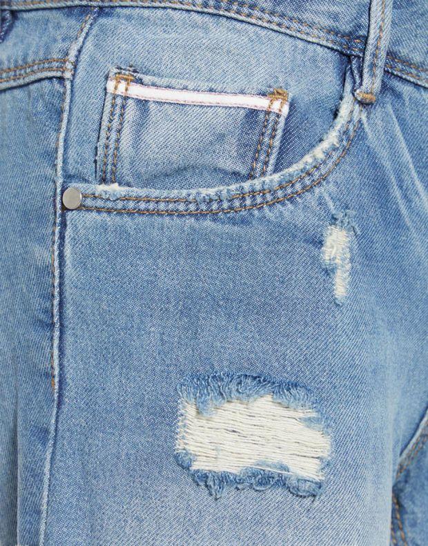 NAME IT Rose Regular Fit Denim Shorts - 5