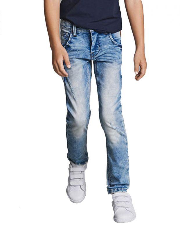 NAME IT Silas Slim Fit Sweat Denim Jeans - 13147683 - 1