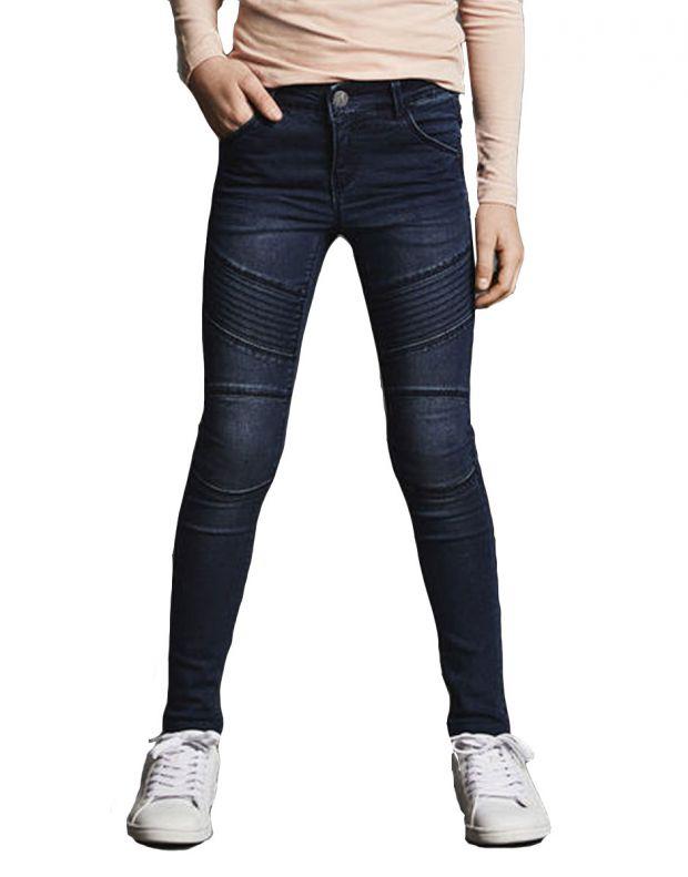 NAME IT Skinny Fit Jeans Dark Blue - 13154835 - 1