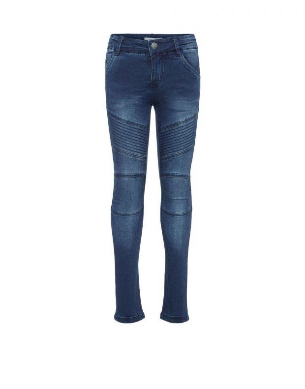 NAME IT Skinny Fit Jeans Dark Blue - 13154835 - 3