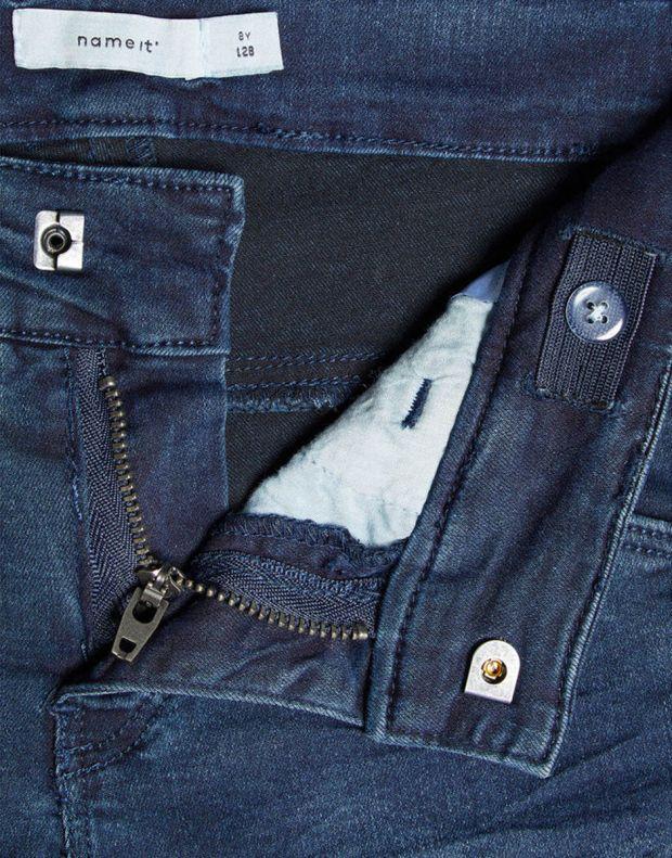 NAME IT Skinny Fit Jeans Dark Blue - 13154835 - 6