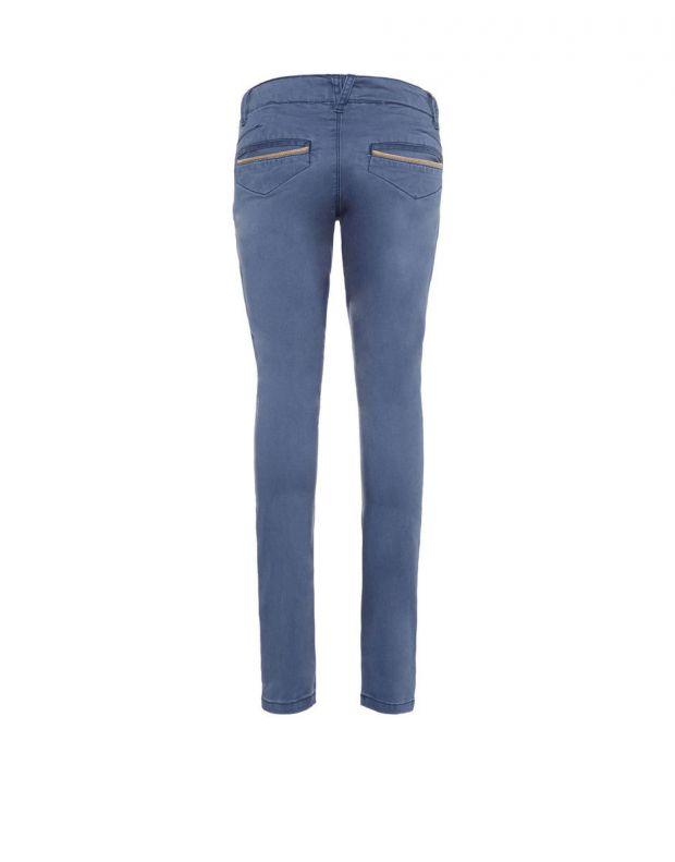 NAME IT Slim Fit Chinos Dress Blue - 13142247/db - 4
