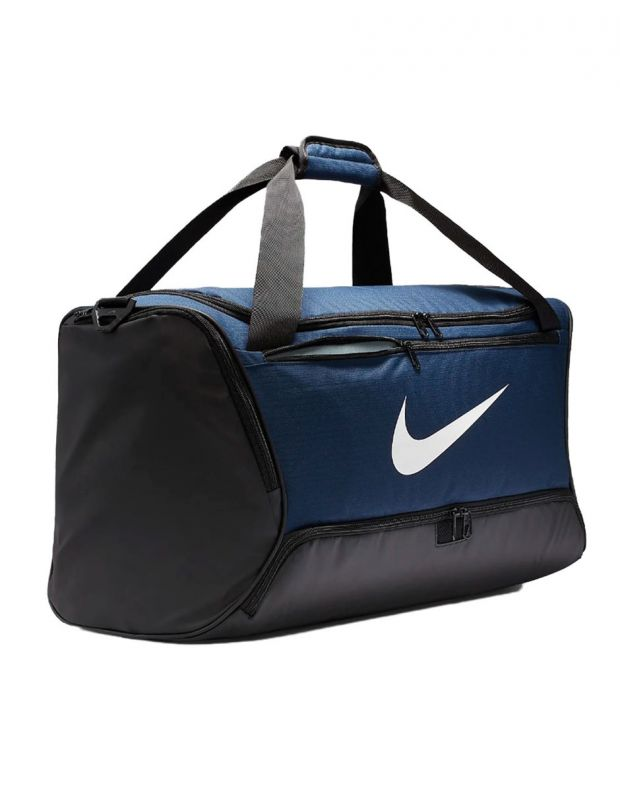 NIKE Brasilia Training Duffel Bag M Navy - BA5955-410 - 3