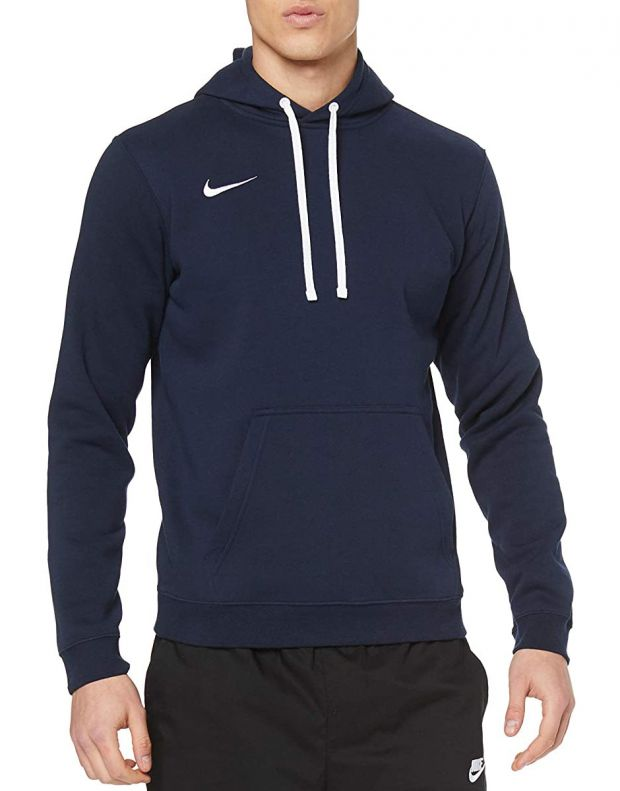 NIKE Club 19 Fleece Hoody Navy - AR3239-451 - 1