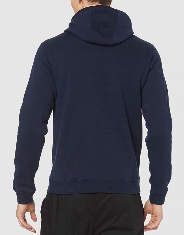 NIKE Club 19 Fleece Hoody Navy - AR3239-451 - 2