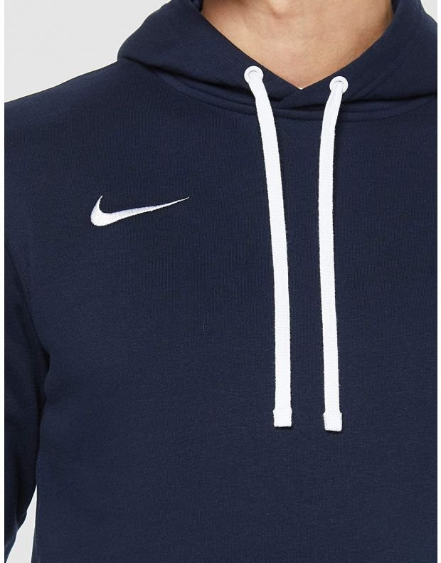 NIKE Club 19 Fleece Hoody Navy - AR3239-451 - 3