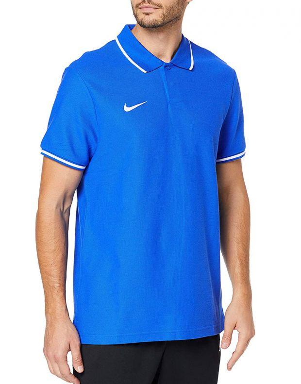 NIKE Club Polo Blue - AJ1502-463 - 1