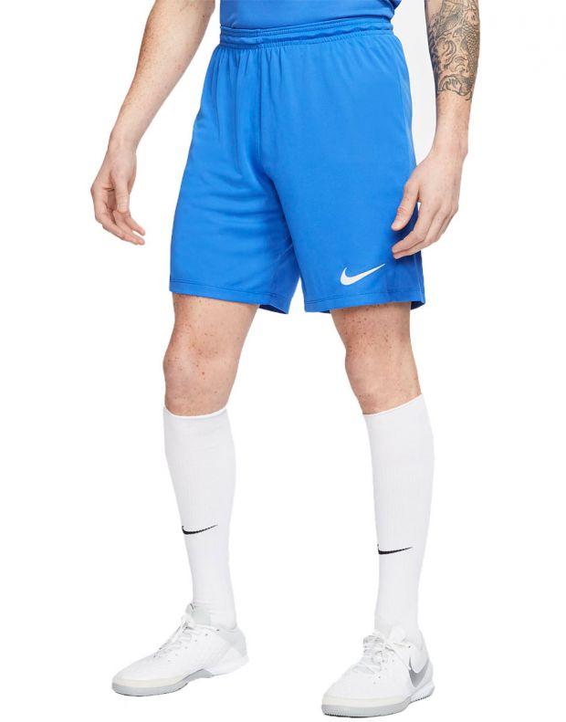 NIKE Park III Dri-FIT Shorts Blue - BV6855-463 - 1