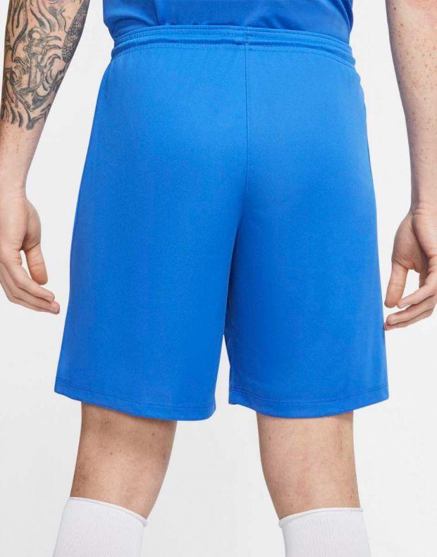 NIKE Park III Dri-FIT Shorts Blue - BV6855-463 - 2