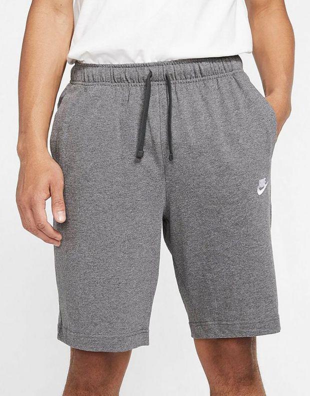 NIKE Sportswear Club Fleece Shorts D.Grey - BV2772-071 - 3