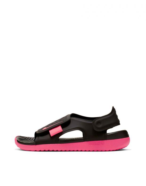 NIKE Sunray Adjust 5 Black & Pink - AJ9076-002 - 1