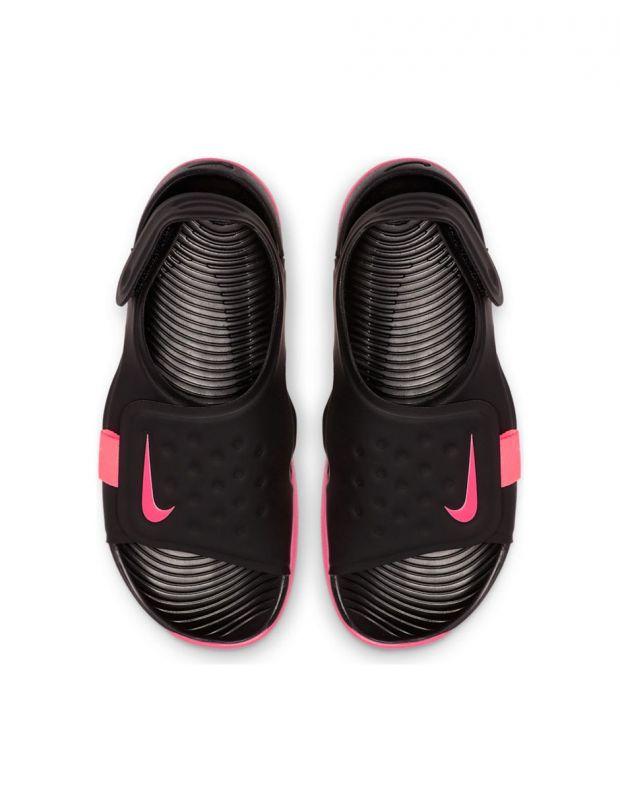 NIKE Sunray Adjust 5 Black & Pink - AJ9076-002 - 3