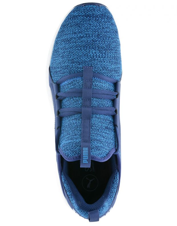 PUMA NRGY Knit Blue - 6