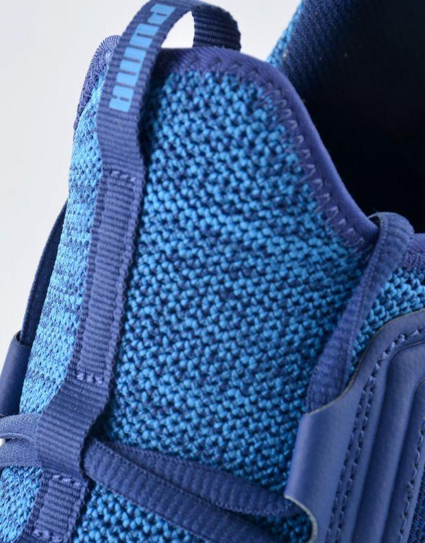 PUMA NRGY Knit Blue - 7