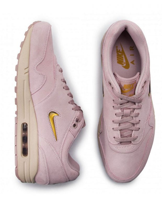 NIKE Air Max 1 Premium Sc Rose/Metallic Gold - 3
