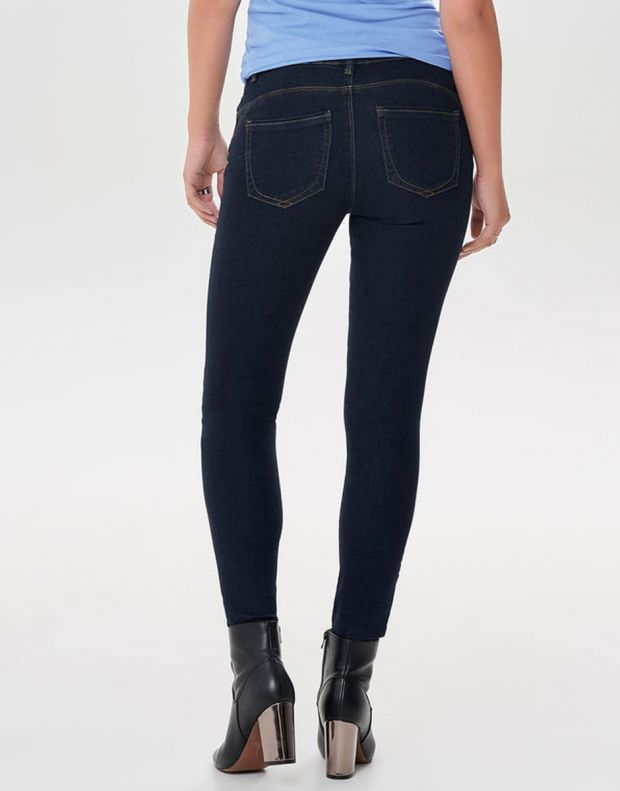 ONLY Daisy Push Up Ancle Skinny Fit Jeans Blue - 15163655/blue - 2