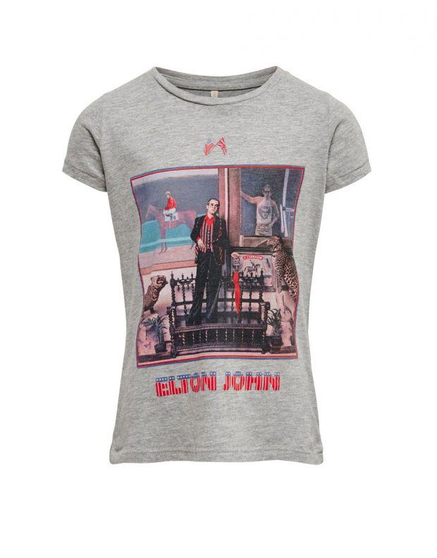 ONLY Elton John Printed Tee Grey - 15183151/grey - 1