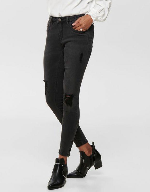 ONLY Kendell Ankle Skinny Fit Jeans Black - 15138624/black - 3