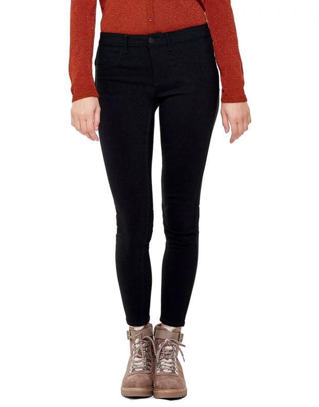 ONLY Peggy Push Up Ancle Skinny Fit Jeans Black - 1