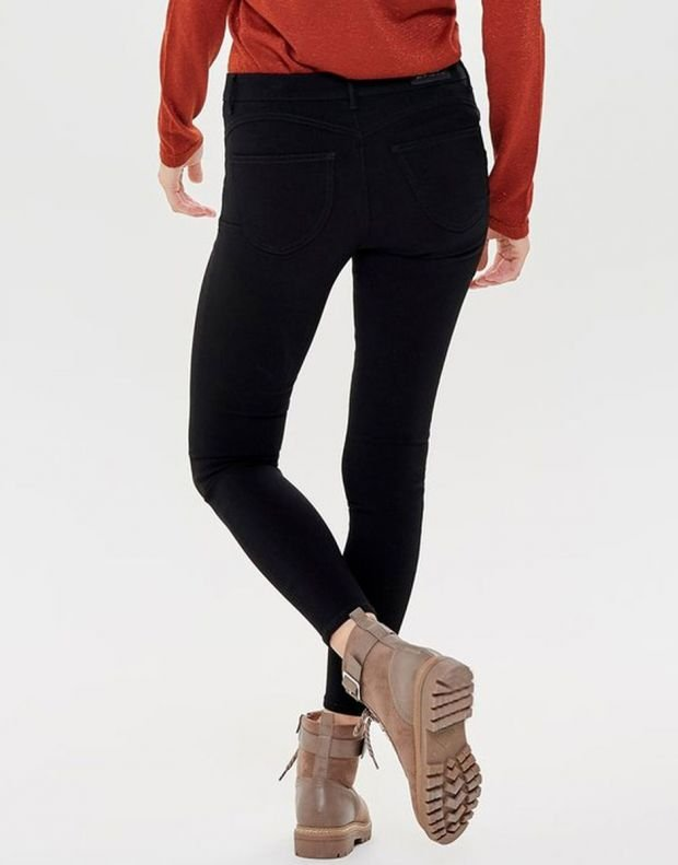 ONLY Peggy Push Up Ancle Skinny Fit Jeans Black - 2