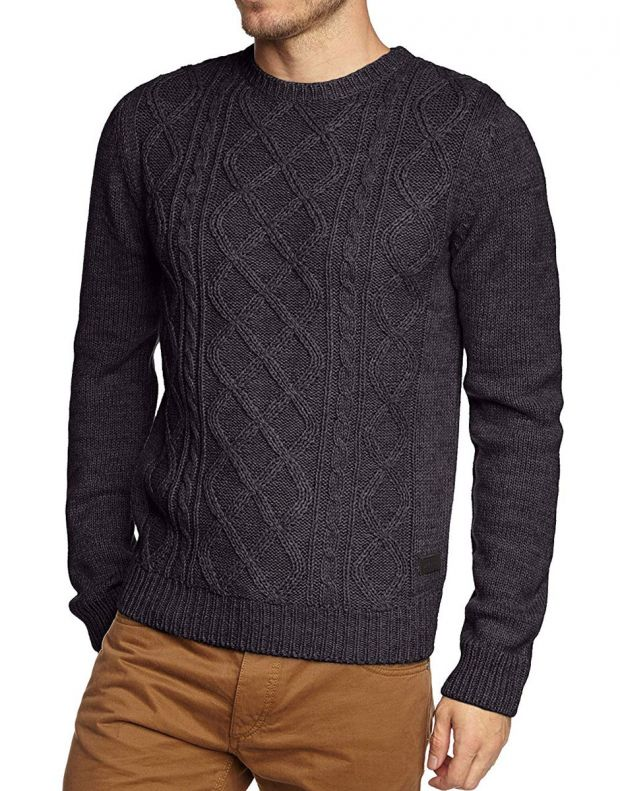 ONLY&SONS Cable Knitted Pullover Navy - 22000065/navy - 1