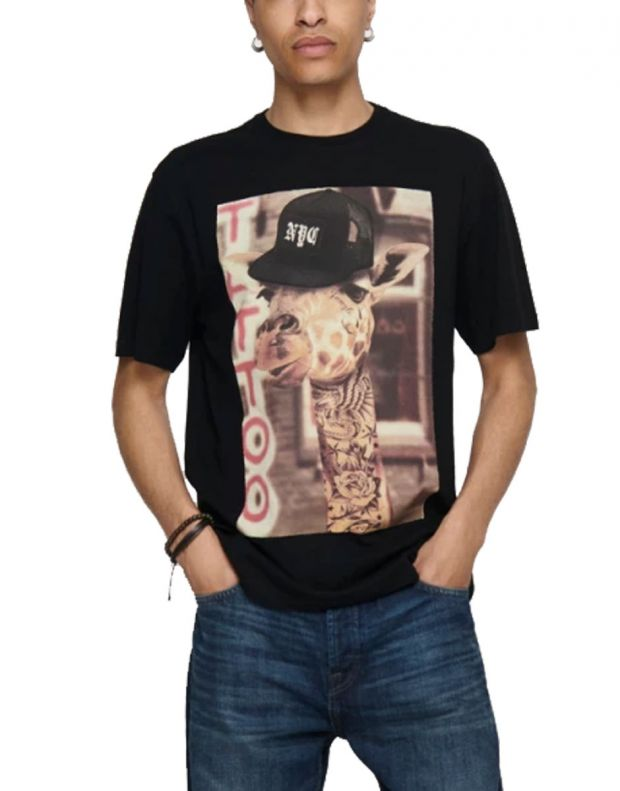ONLY&SONS Funno Tee Black - 22017096/black - 1