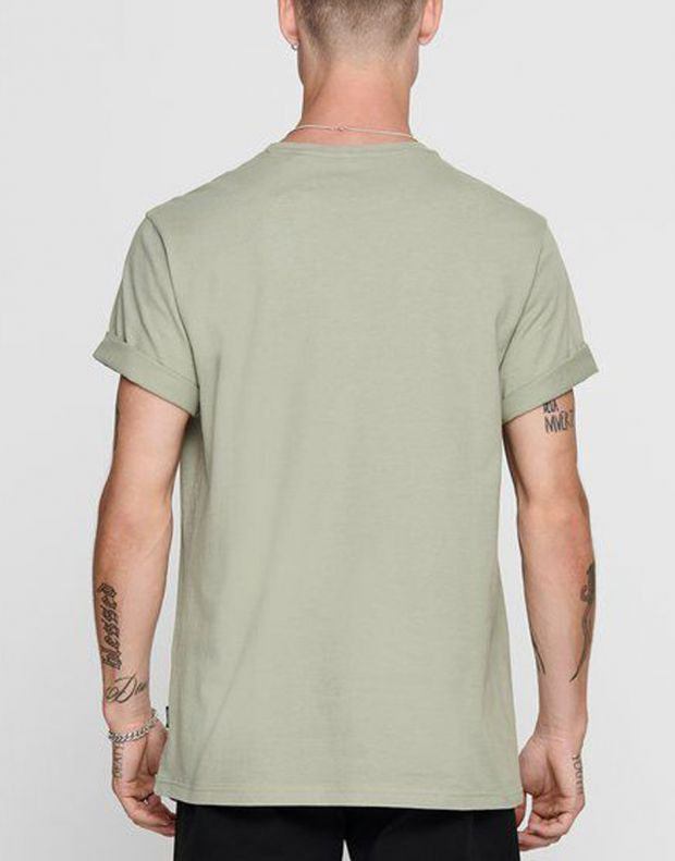 ONLY&SONS Funno Tee Seagrass - 22017096/seagrass - 2