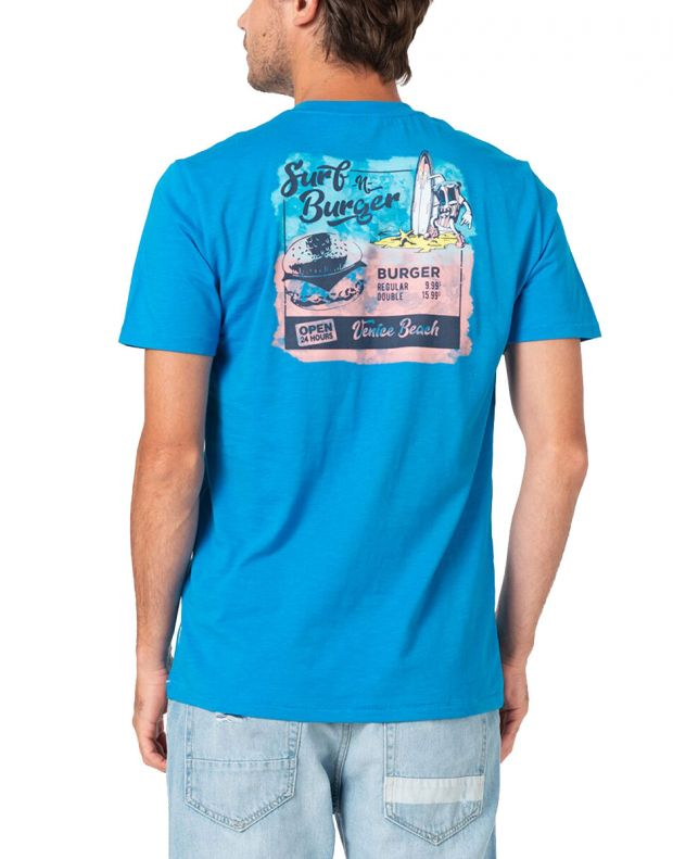 ONLY&SONS Illusion Tee Blue - 22016757/blue - 2