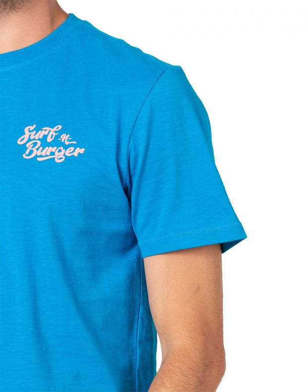 ONLY&SONS Illusion Tee Blue - 22016757/blue - 3