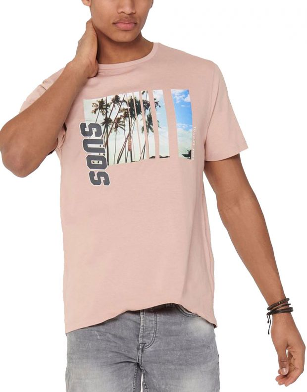 ONLY&SONS Indio Tee Rose - 22016606/rose - 1