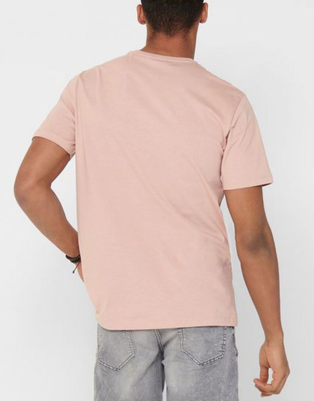 ONLY&SONS Indio Tee Rose - 22016606/rose - 2