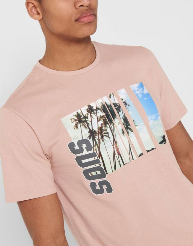 ONLY&SONS Indio Tee Rose - 22016606/rose - 3