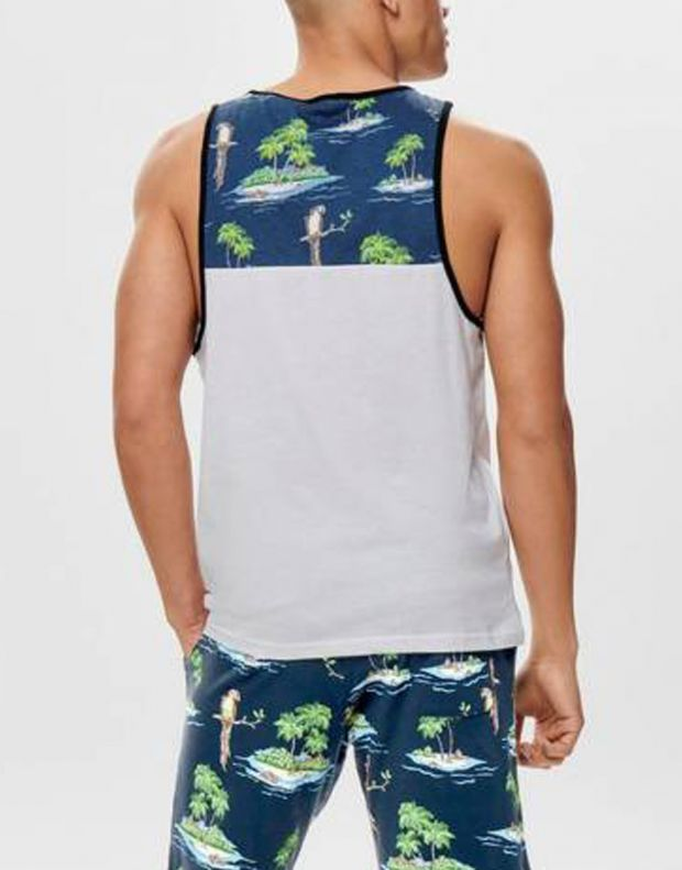 ONLY&SONS Lee Pocket Tank Parrot - 22012601/parrot - 2