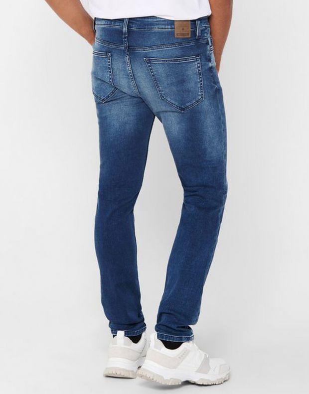 ONLY&SONS Loom Zip Sweat Slim Jeans Denim - 22017101/denim - 2