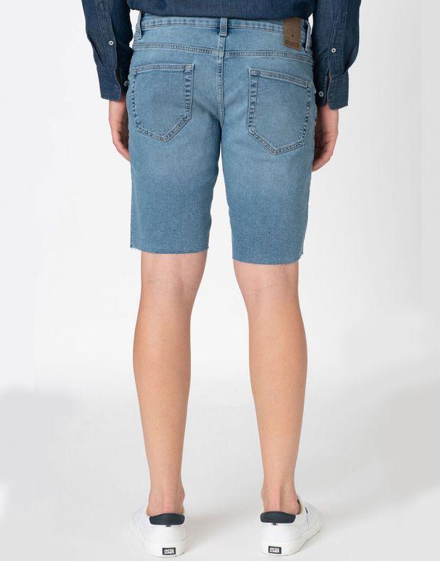 ONLY&SONS Ply Reg Raw Hem Shorts Blue - 22015275 - 2