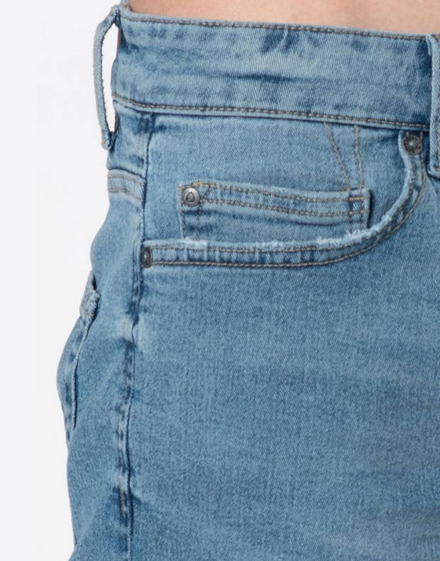 ONLY&SONS Ply Reg Raw Hem Shorts Blue - 22015275 - 4
