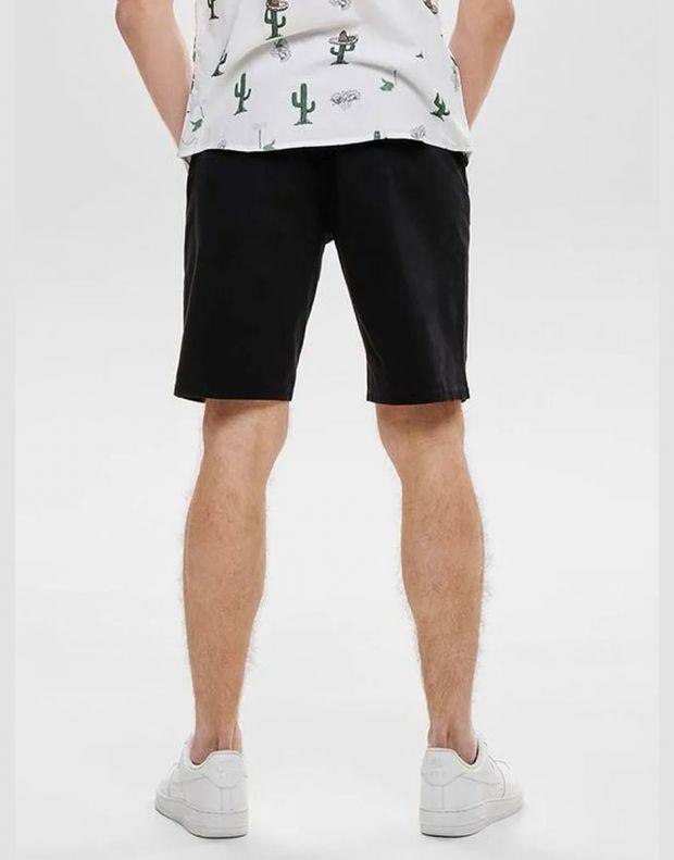 ONLY&SONS Slim Chino Shorts Black - 22012174/black - 2